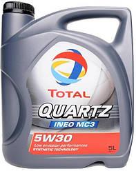 QUARTZ INEO MC3 5W30 5L   Моторное масло