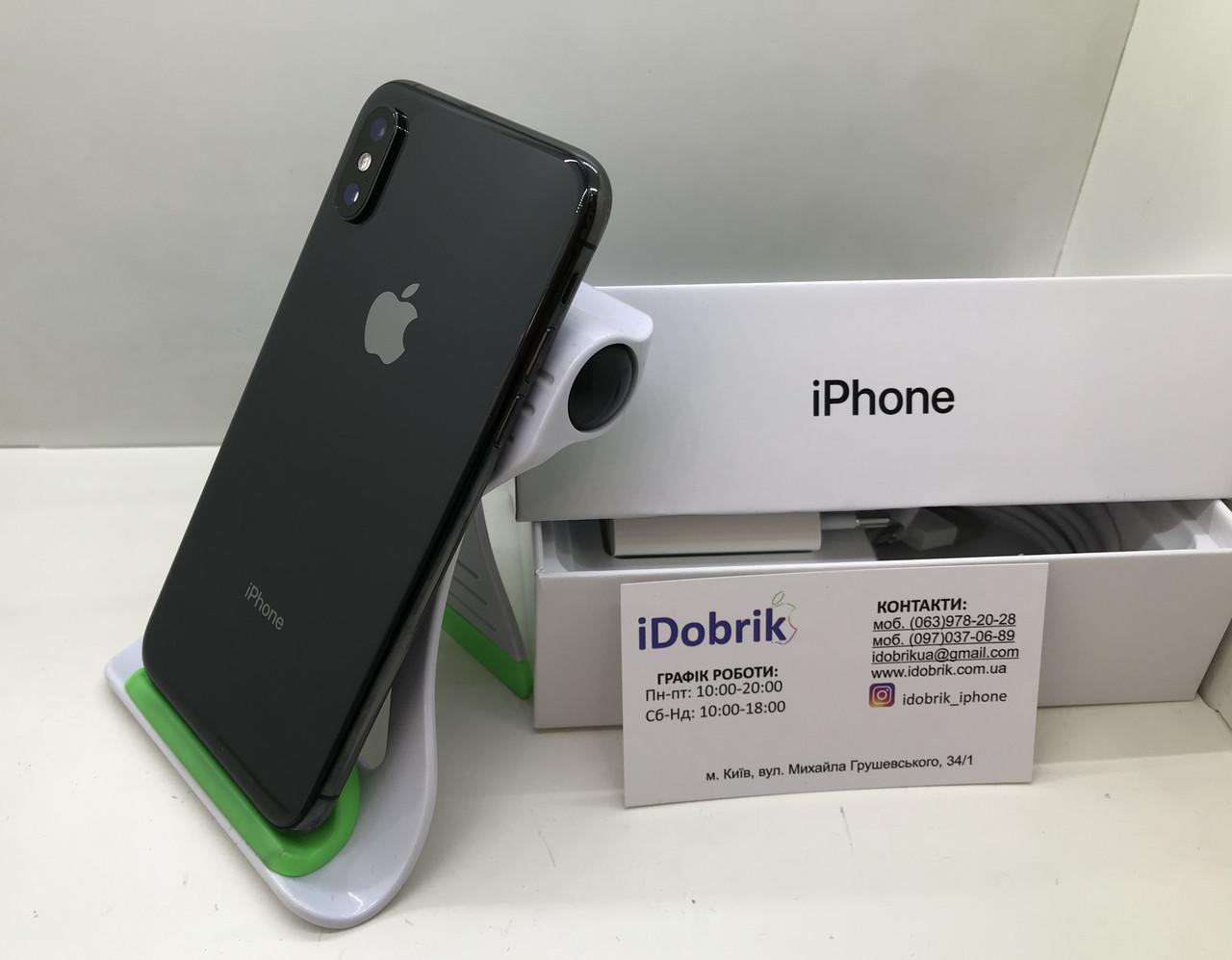 Телефон Apple iPhone XS MAX 256 gb Spase Gray Neverlock 9/10