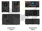 Инвертор напряжения MUST EP20-1000 PRO (1000 Вт, ИБП, 12В), фото 4