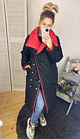 Куртка женская зимняя двухсторонняя молодежная разные цвета, фото 1