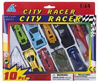 """Игрушечный набор техники """"CITI RACER"""" 10 элементов 92753-10PS"""