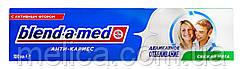 Зубная паста Blend-a-med Анти-Кариес Деликатное отбеливание Свежая мята - 100 мл.
