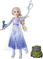 Кукла Hasbro Frozen Холодное сердце 2 Эльза (28 см) с аксессуарами E5496_E6660
