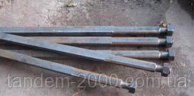 Вал ЛДГ 1550 мм кв. 30