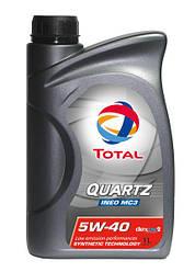 QUARTZ INEO C3 5W40 1L   Моторное масло