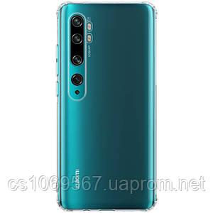 TPU чехол Epic Transparent 1,0mm для Xiaomi Mi Note 10 / CC9 Pro