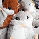 Іграшка-плед-подушка Хом'як великий, фото 8
