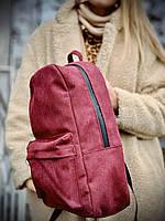 Рюкзак LTK2x4 бордо канвас, фото 1