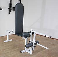 Лавка для жима регульована до 200 кг Лавка та тренажер для ніг, фото 3