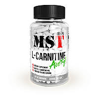 Жиросжигатель для снижения веса MST Nutrition L-Carnitine Acetyl 90 капсул (30 порций) |Л-Kарнитин|Ацетил|
