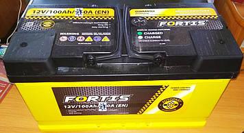АКБ 6 ст 100 А (860EN) (0) AutoPart FORTIS (короткий) Євро