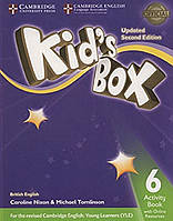 Kid's Box Level 6 Activity Book with Online Resources British English