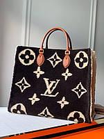 Сумка плюшевая Louis Vuitton