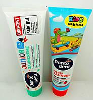 Зубная паста детская Dontodent в ассортименте, 100ml (Германия)