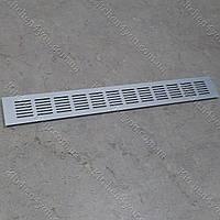 Вентиляционная решетка 60х480 мм. алюминий