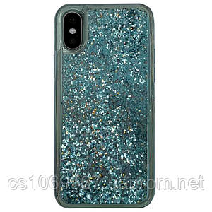 "TPU+PC чехол Sparkle (glitter) для Apple iPhone X / XS (5.8"")"