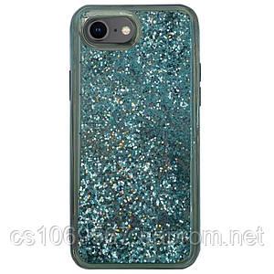 "TPU+PC чехол Sparkle (glitter) для Apple iPhone 7 / 8 (4.7"")"