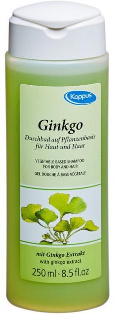 Гель - шампунь для тела и волос Kappus Ginkgo Biloba Duschbad 250 мл