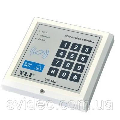 Кодовая клавиатура YK-168 со встроенным считывателем