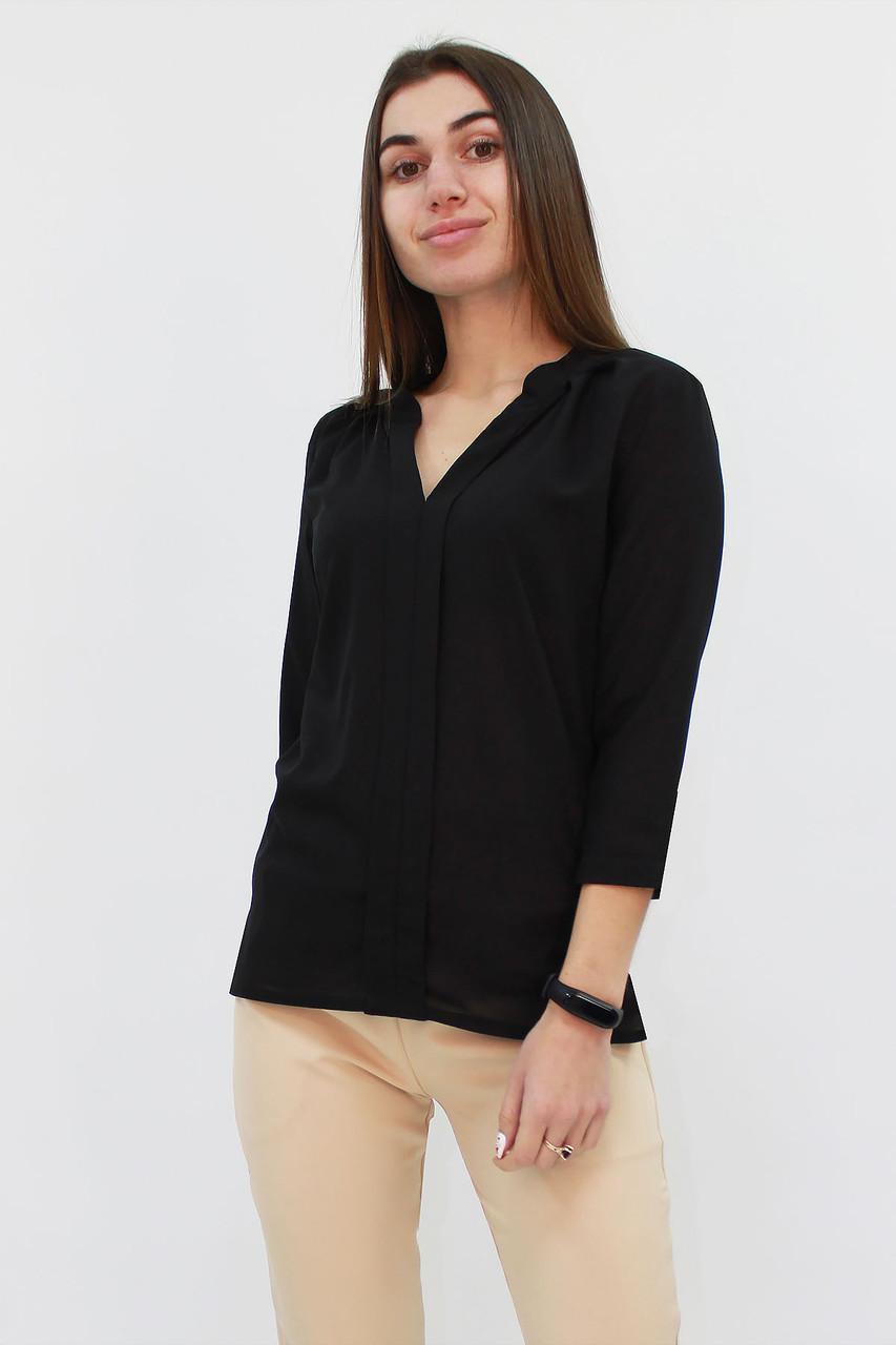 S, M, L, XL / Молодіжна жіноча блузка Kary, чорний