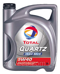 QUARTZ INEO C3 5W40 5L   Моторное масло