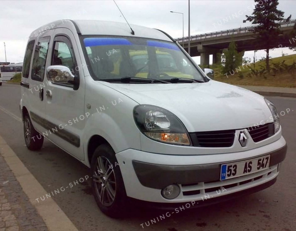 Накладки на зеркала заднего вида Renault Kangoo 2004-2008