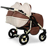 Универсальная детская коляска для двойни Verdi Twin Duo 03, фото 3