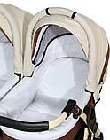 Универсальная детская коляска для двойни Verdi Twin Duo 03, фото 7