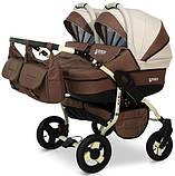 Универсальная детская коляска для двойни Verdi Twin Duo 08, фото 2