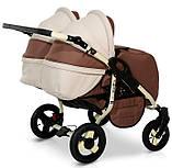 Универсальная детская коляска для двойни Verdi Twin Duo 08, фото 3