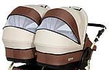 Универсальная детская коляска для двойни Verdi Twin Duo 08, фото 6