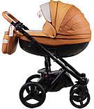 Универсальная детская коляска  2в1 Adamex Monte Carbon Deluxe D104, фото 2