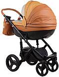 Универсальная детская коляска  2в1 Adamex Monte Carbon Deluxe D104, фото 3