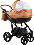 Универсальная детская коляска  2в1 Adamex Monte Carbon Deluxe D104, фото 4