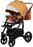 Универсальная детская коляска  2в1 Adamex Monte Carbon Deluxe D104, фото 5
