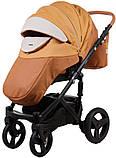 Универсальная детская коляска  2в1 Adamex Monte Carbon Deluxe D104, фото 6