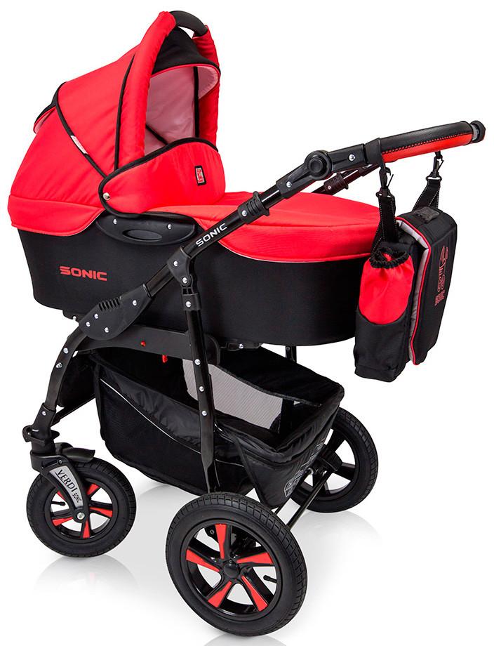 Универсальная  детская коляска 3в1 Verdi Sonic 01