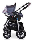 Универсальная  детская коляска 3в1 Verdi Sonic 01, фото 8