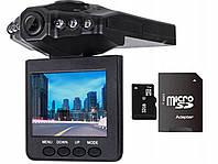 Автомобильный регистратор с камерой HD, MICRO SD  32GB, фото 1