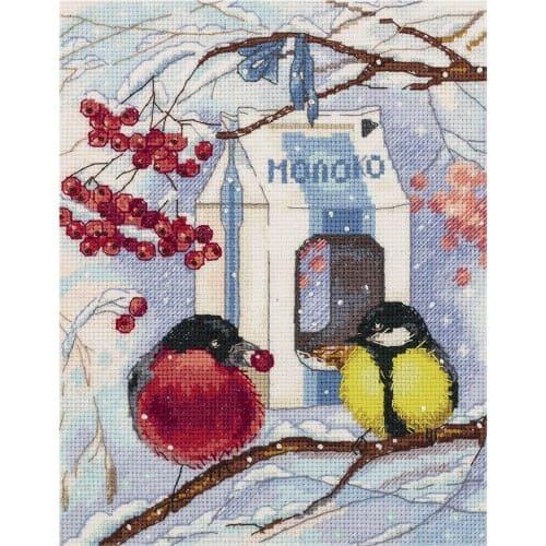 Набір для вишивки хрестом Panna ПТ-7078 «Зима в місті»