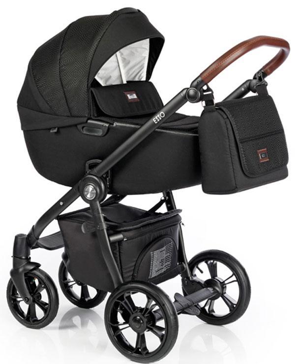 Универсальная коляска 2в1 Roan Esso Total Black