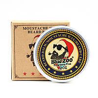 Бальзам для бороды и усов с воском Blue ZOO Balm Fragrance free 60 г