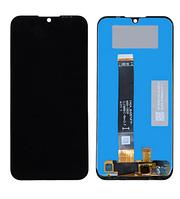 Дисплей для телефона Huawei Y5 2019 | Honor 8S | AMN-LX9 с сенсорным стеклом (Черный) Оригинал Китай