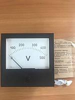 Вольтметр щитовой постоянного напряжения М381 500В