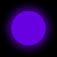 Люминофор фиолетовый GlowColors