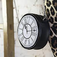 Сумка круглая Tablet Часы (RS_19A001_BL)