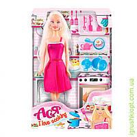 """Кукла Барби  """"Ася""""  'Я люблю готовить' ( блондинка 28см)"""