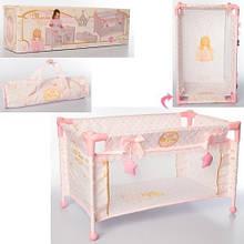 Манеж кроватка для кукол decuevas 50028