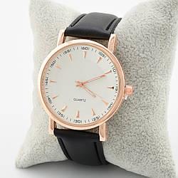 Часы G-070 диаметр циферблата 3.8 см белый длина ремешка 17-21 см черный цвет позолота РО
