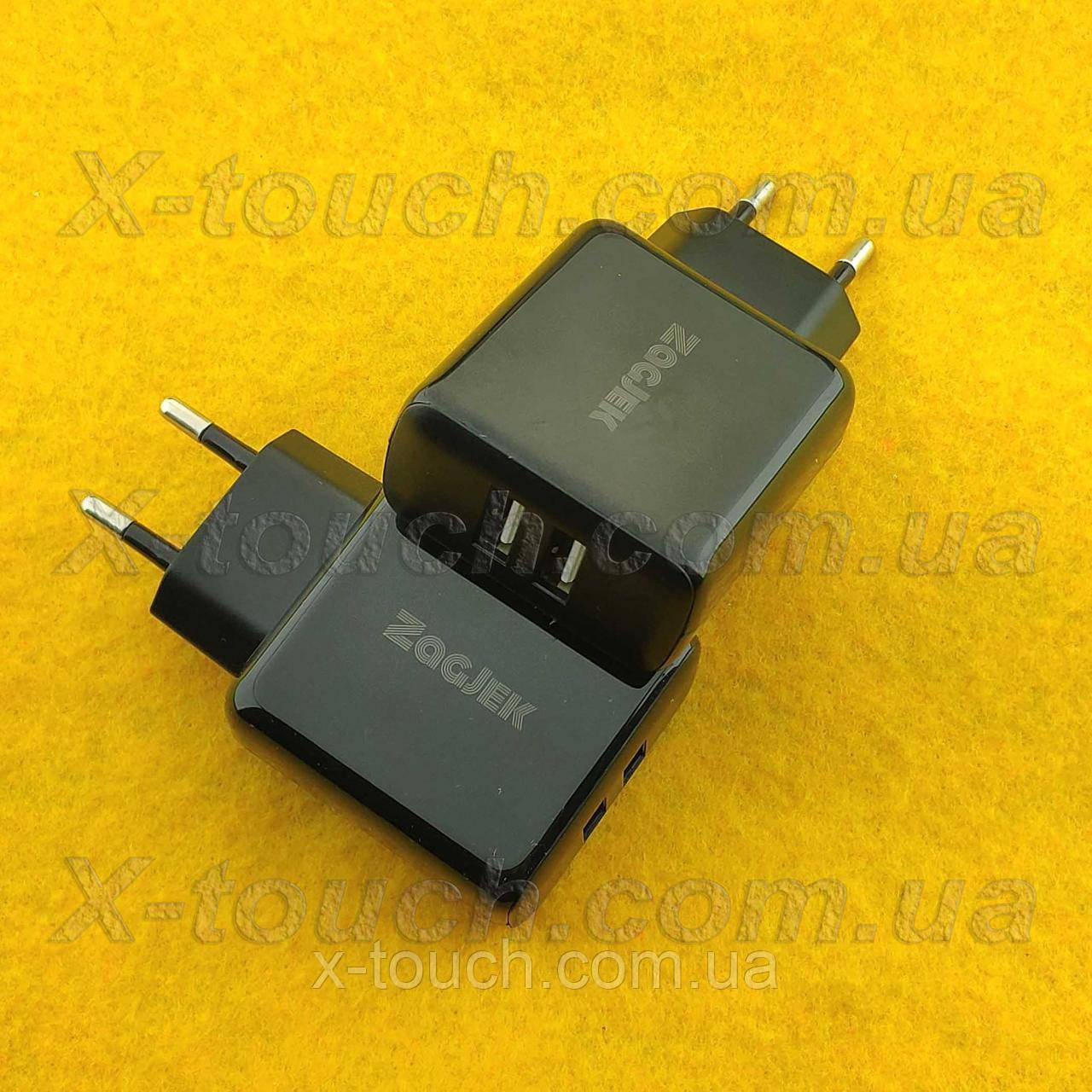 Блок питания, сетевая зарядка N11-ZJ для устройств, черный.